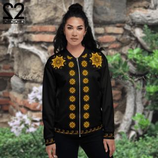 Loroloro Batik Manik Bomber Jacket