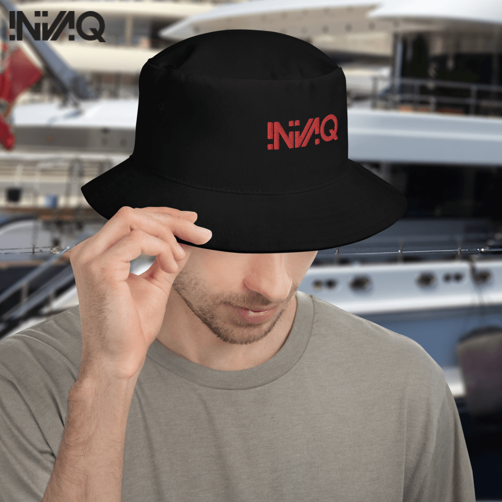 iNVAQ Red Logo - Bucket Hat